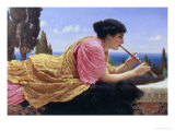 The Melody Giclee Print by John William Godward