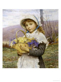 Spring Flowers Giclee Print by Edwin Bale