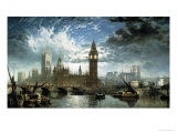 The Houses of Parliament Giclee Print by John Anderson