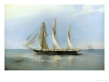 The Wanderer Refitted, c.1883 Giclee Print by Richard Bridges Beechey