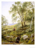 Springtime in Wales Giclee Print by Benjamin Williams Leader