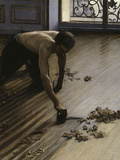 The Floor Planers, c.1875 Poster by Gustave Caillebotte