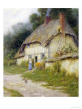 Out for a Walk Giclee Print by Helen Allingham