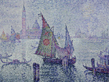 The Green Sail, Venice, c.1902 Giclee Print by Paul Signac