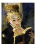Girl Reading, c.1874 Prints by Pierre-Auguste Renoir