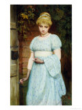 At the Garden Gate Giclee Print by Charles Lidderdale