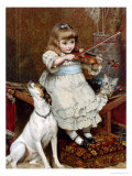 The Broken String Giclee Print by Charles Burton Barber