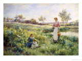 Golden Hours Giclee Print by Alfred Augustus Glendenning