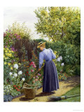 Day in the Garden Reproduction procédé giclée par Marian Chase