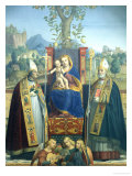 Virgin and Child with Ss Lorenzo Giustiniani and Zeno Giclee Print by Jérôme-Dai Libri