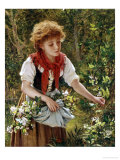 Picking Honeysuckle Giclée-Druck von Sophie Anderson