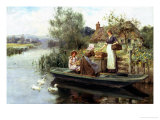 The Journey Home Giclee Print by Henry John Yeend King