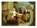 Musical Soiree Giclee Print by Etienne Jeaurat