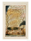Songs of Innocence Reproduction procédé giclée par William Blake
