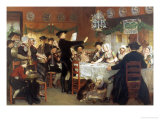 Asking in Marriage Giclee Print by Adolf Alexander Dillens