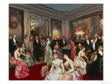 Elegant Soiree Giclee Print by Horace De Callias