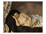 Reclining Nude, c.1877 Posters by Armand Guillaumin