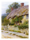 Ivy Cottage Giclee Print by Helen Allingham