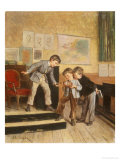 Filling the Inkwells Giclee Print by Theophile E. Duverger