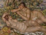The Bathers, c.1918 Prints by Pierre-Auguste Renoir