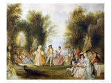 La Fete Champetre Giclee Print by Henry Andrews