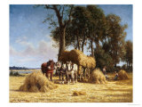 The Harvest Giclee Print by Charles Clair