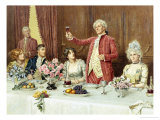 The Toast, the Ladies, God Bless 'Em Giclee Print by George Goodwin Kilburne