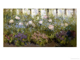 The Herbacious Border Giclee Print by Patrick William Adam