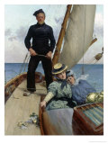 Sea Voyage Giclee Print by Georges Jean Marie Haquette