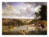 Summer's Afternoon, near Merryworth, Kent Giclee Print by George Vicat Cole