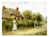 Mother&#39;s Welcome Giclee Print by Henry John Yeend King