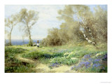 Spring Giclee Print by Clayton Adams