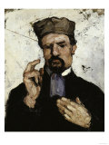 The Lawyer (Portrait of Uncle Dominique), c.1866 Giclee Print by Paul Cézanne