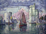 The Port of la Rochelle, c.1921 Giclee Print by Paul Signac