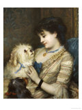 Treasured Pets Giclee Print by Albert Ludovici