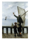 Au Revoir Giclee Print by Georges Jean Marie Haquette