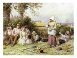 Welcome Refreshment Giclee Print by Myles Birket Foster