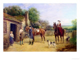 The New Shoe Giclee Print by Heywood Hardy