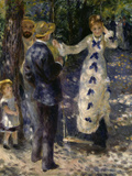 The Swing, c.1876 Giclee Print by Pierre-Auguste Renoir