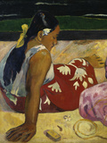 Women in Tahiti, c.1891 Giclee Print by Paul Gauguin