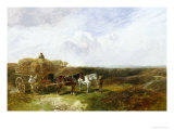 Haymaking Giclee Print by George Vicat Cole