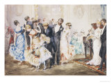 The Dance Giclee Print by Albert Ludovici