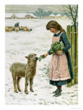 Christmas Treat Giclee Print by Henry Johnstone