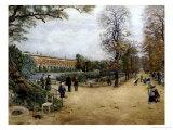 Le Jardin des Plantes, Paris Giclee Print by Fernand Auguste Besnier