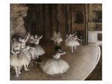 Ballet Rehearsal, c.1874 Giclee Print by Edgar Degas