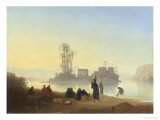 View of the Island of Philae Giclee Print by Charles T. Frere
