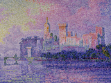 Papal Palace in Avignon, c.1900 Prints by Paul Signac