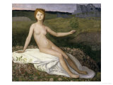 Hope, c.1872 Posters by Pierre Puvis de Chavannes