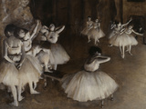 Ballet Rehearsal, c.1874 Posters by Edgar Degas