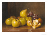 Stilll Life of Fruit Giclee Print by Giuseppe Falchetti